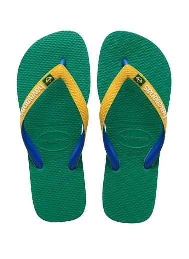Havaianas Havaianas Brasil Mix  Erkek Plaj Terliği 101646162 Yeşil
